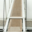Yacht boarding ladder — Stock Photo #14144977
