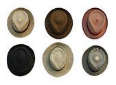 Retro-style hats — Stock Photo