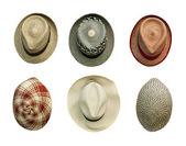 Cappelli stile retrò — Foto Stock