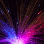Optical fibers — Stock Photo