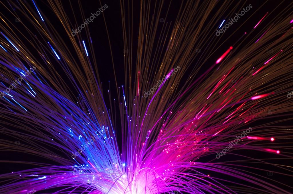 Optical fibers background — Stock Photo #15155047