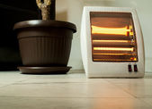 Electric heater — Stock Photo
