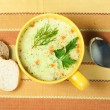 Chicken Cream Soup — Stock Photo