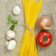 Bundle of spaghetti — Stock Photo