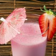 Strawberries milk shake — Stock Photo #19357465