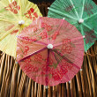 Royalty-Free Stock Photo: Colorful cocktail umbrellas