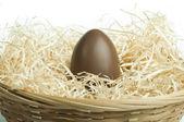 Chocolate Easter Egg — Stock Photo