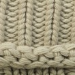 Stock Photo: Old knit sweater background