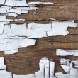 Old cracked paint on boards — Stock Photo