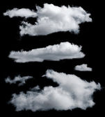 Isolated clouds — Foto Stock
