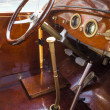 Vintage retro car interior — Stock Photo #26224591