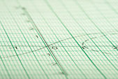 Mathematical drawings, concepts and strategies — Stock Photo