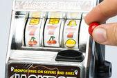 Gambling machine — Stock Photo