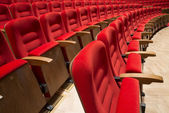 Seats in a theater and opera — Stock Photo