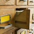Old archive with drawers — Stock Photo #33560795