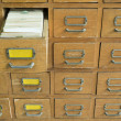 Old archive with drawers — Stock Photo #33560967