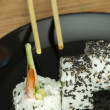 Sushi in restaurant — Stock Photo