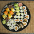 Sushi in restaurant — Stock Photo #34214053