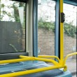 Bus Interior at public transport — Stock Photo