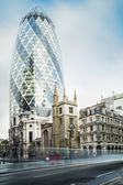 Buildings in city of London — ストック写真