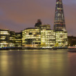 City of London on Thames — Stock Photo