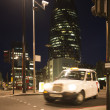 Taxi in City of London — Stock Photo #36651809