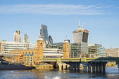City of London on Thames — Стоковое фото