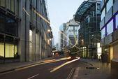 伦敦金融城的建筑物 — 图库照片