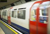 Underground in London — Stock Photo