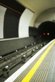 Underground in London — Stockfoto