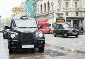 Táxi em londres — Fotografia Stock