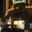 Harrods department store and taxi — Stock Photo #37172659