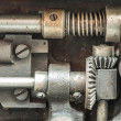 Stock Photo: Machine partes mechanism