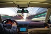 Interni auto di guida. — Foto Stock