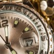 Shiny gold color watch — Stock Photo #38194301