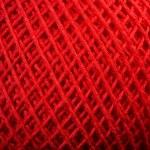Red yarn close up — Stock Photo #38895821