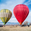 Stock Photo: BANSKO, BULGARI- CIRCJANUARY 2014: Multicolored Balloons in