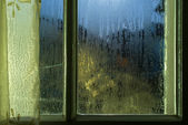 Moonlight through the window — Stockfoto