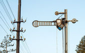 Semáforo de trem — Foto Stock