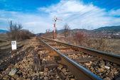 Train Semaphore — Stock Photo