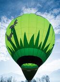 Green Balloon — Stock Photo