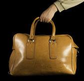 旧的老式的行李包 — 图库照片