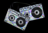 Vintage cassette tape — Stock Photo