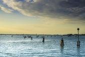 Sea route to Venice — Stock Photo
