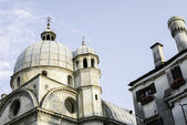 Igreja de santa lucia de veneza — Foto Stock