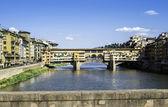 Ponte Vecchio Florence — Stock Photo