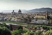 Panoramic view of Florence — 图库照片