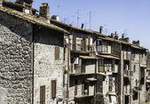 Traditional Italian homes — Stok fotoğraf
