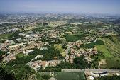 High view from San Marino — Stock Photo