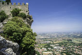 High view from San Marino — Stock Photo